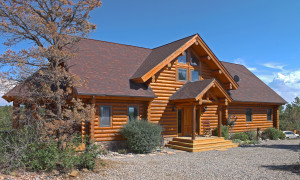 Durango real estate-Alix Kogan log home on acreage near Durango