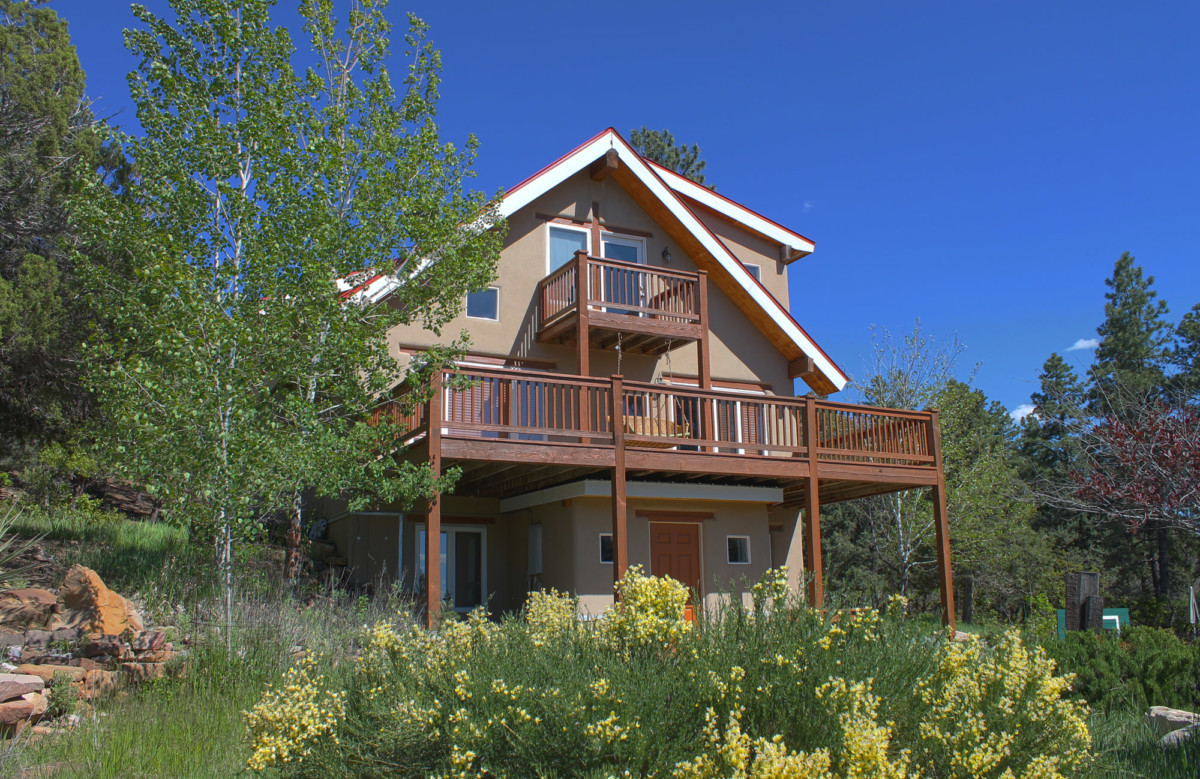 Durango real estate for sale front of house closer in BEST