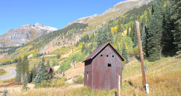 Silverton mining claim second building