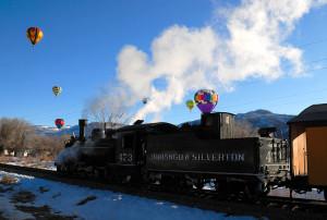 Balloon Train 2009 Durango CO