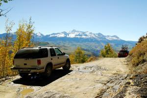 Last Dollar Road north of Durango CO