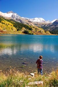 Trout Lake and Fisherman Durango CO