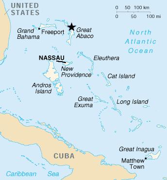 bahama cyberstar map