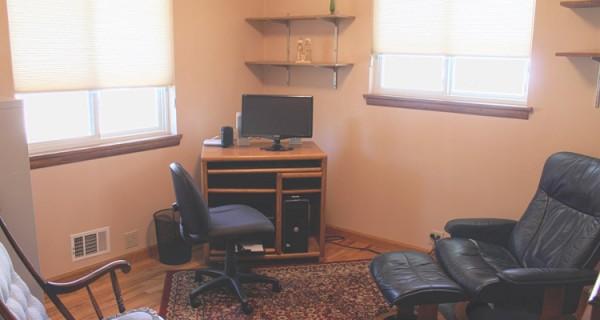 bedroom three of intown Durango home