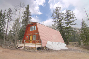 Durango CO real estate for sale-A frame near purgatory ski resort