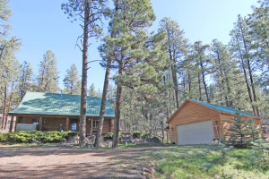 Bayfield Colorado home for sale-log home
