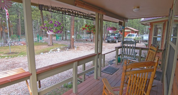 32 Ranch Road front porch