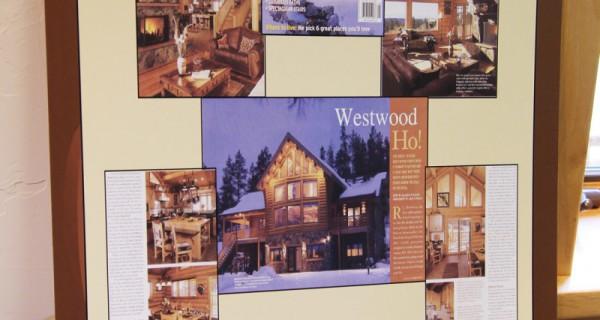 9448 CR 502 log home living magazine spread