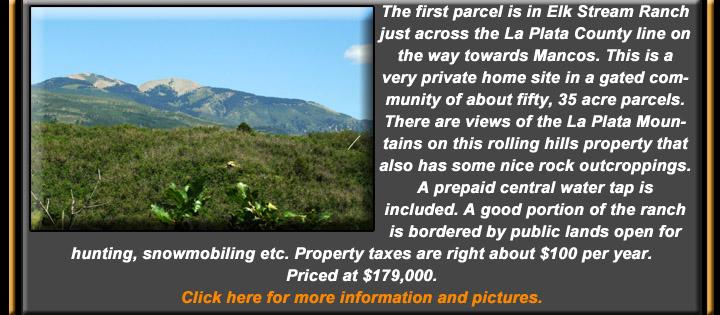 e-newsletter June 2016 Durango CO real estate in Mancos