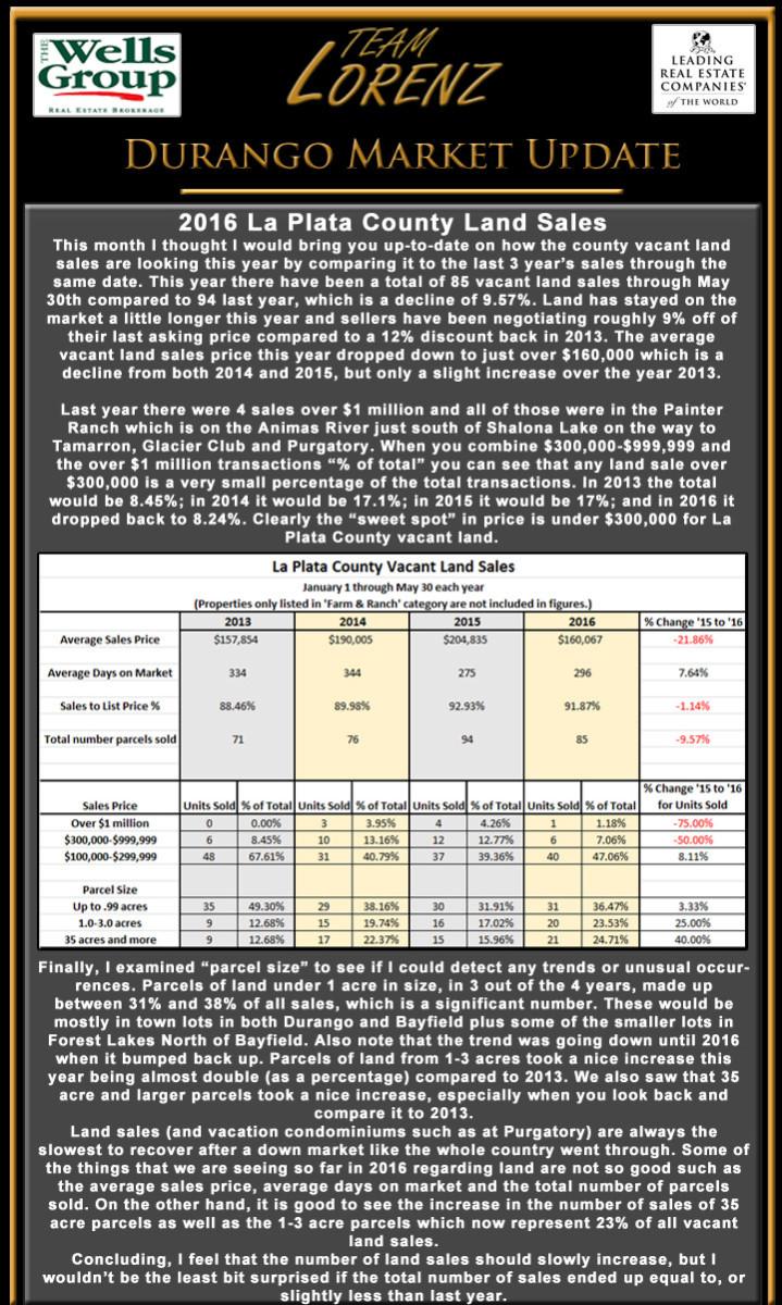 Durango CO e-newsletter June 2016