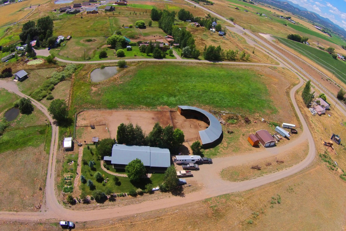 Horse Property on just under 5 acres with 4 of those acres irrigated!